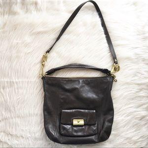 Coach crossbody shoulder hobo bag purse brown